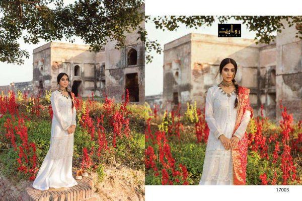 Rawayat Alzohaib Vol-2 Series 17001-17005 Cotton Lawn Suit