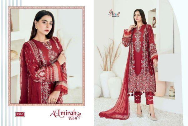 Shree Fabs Almirah Vol-9 Designer Pure Lawn Suit