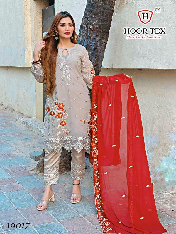 Hoor Tex 19017 Designer Heavy Georgette Suit