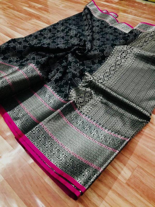 Bt-04 Designer Banarasi Silk Saree