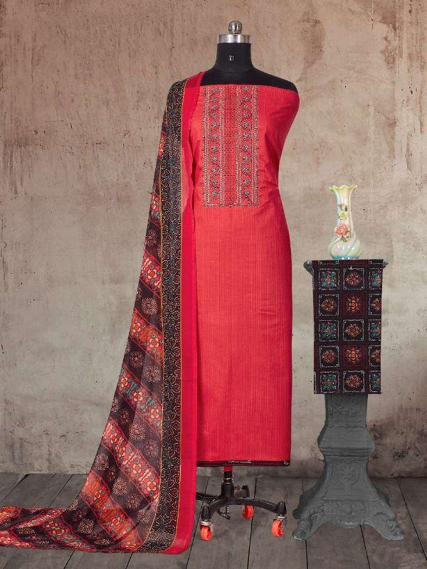 Bipson Netflix 1506 Cotton Casual Wear Ladies Dress Materials